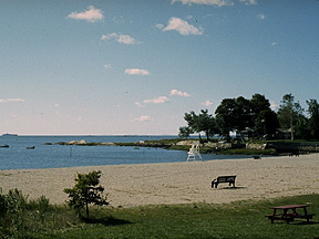 Jacob's Beach where the children played for years