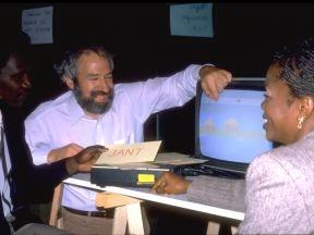 scientific director Seymour Papert