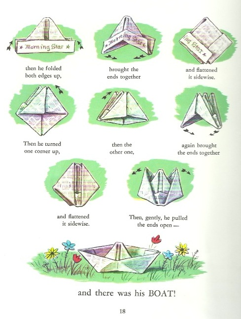 Vn 51-2 Curious George Paper Ship procedure
