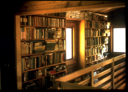 Balcony Book Shelves