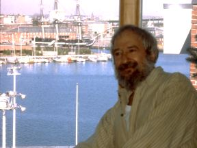 Seymour Papert in Boston's North End