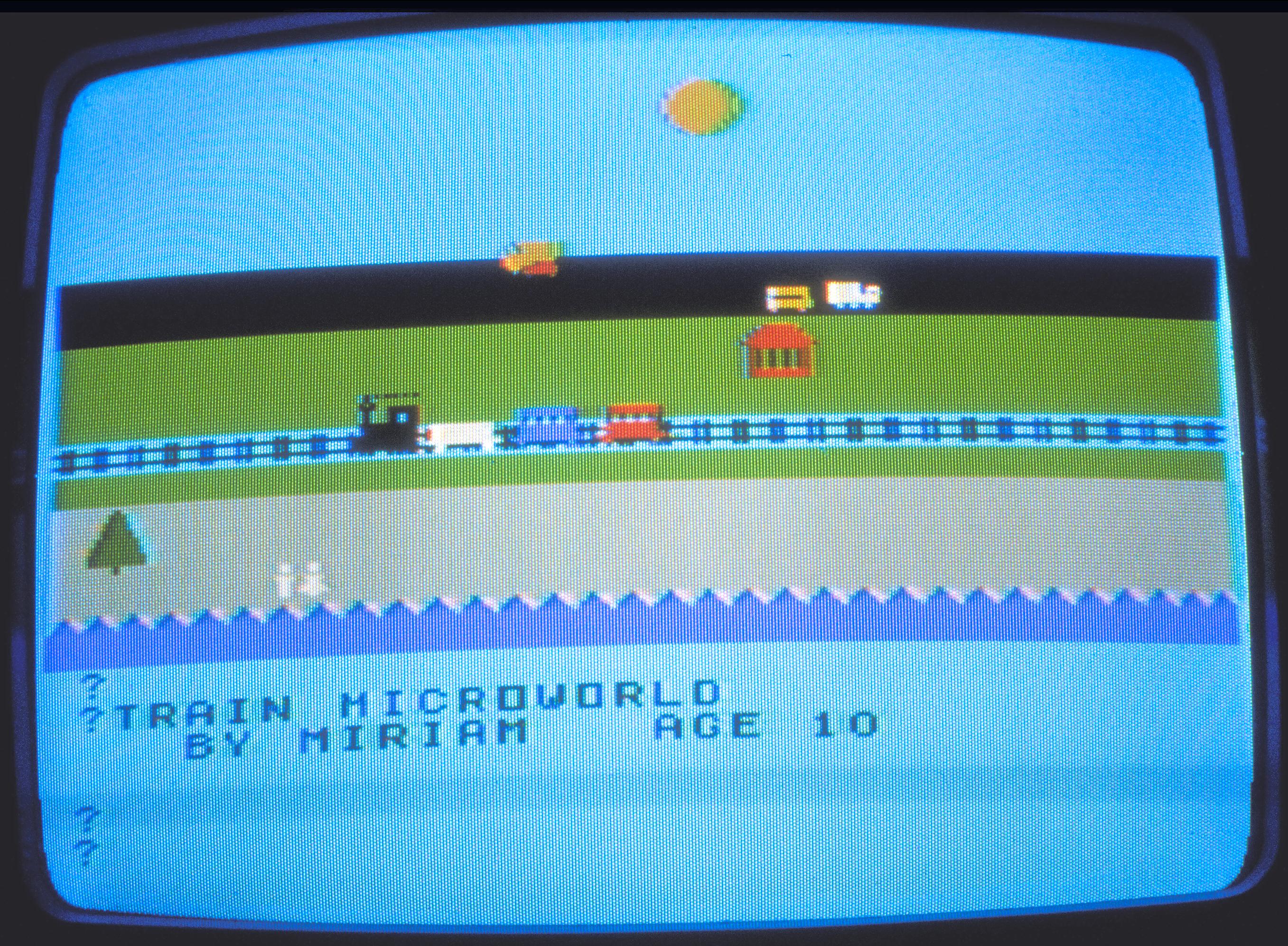 Miriam's Train World,1981-82