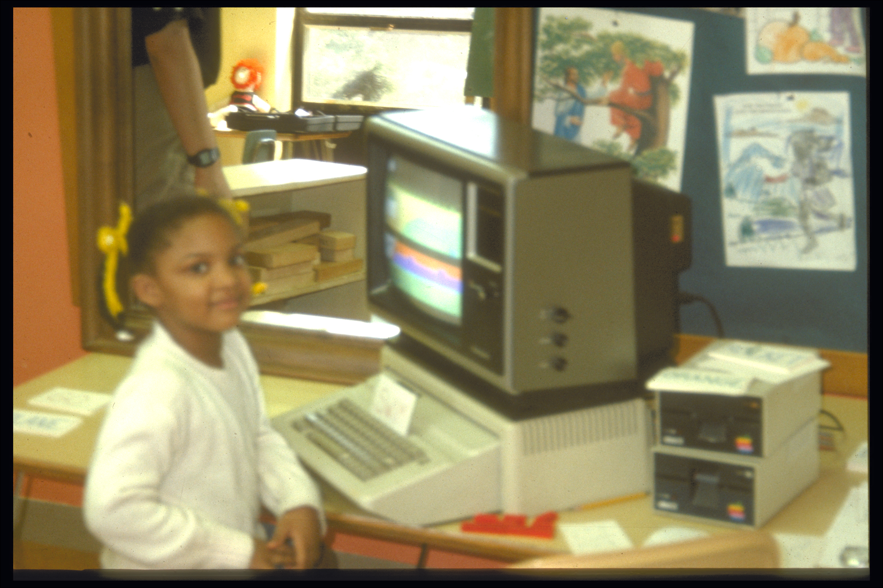 Denitha With the Dock Microworld, 1989