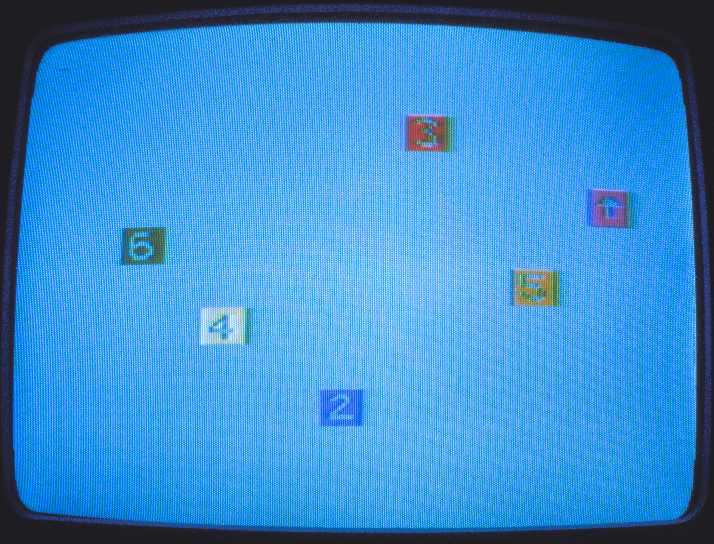 BLOCKS in Use: changing color, direction, motion, 1981.