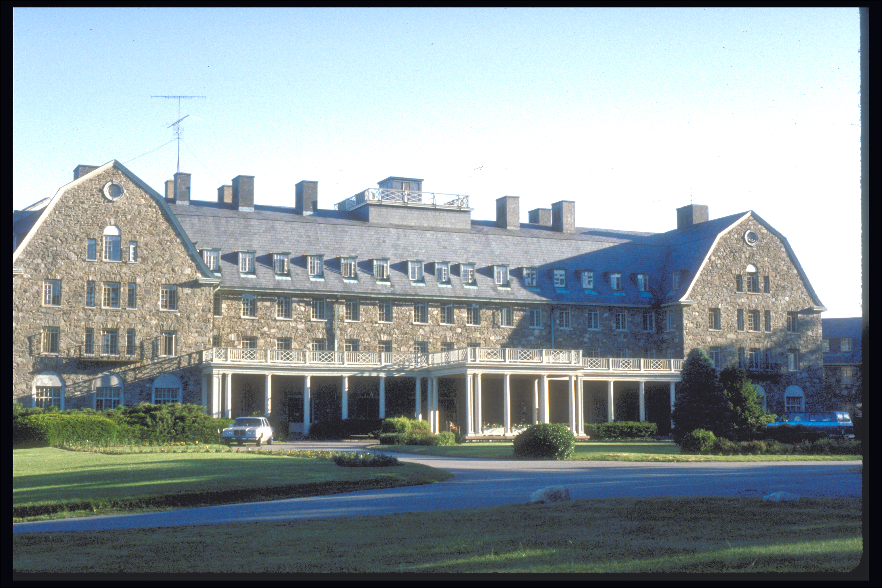 Pocono Mountains: AI Conference Venue, mid-1980's