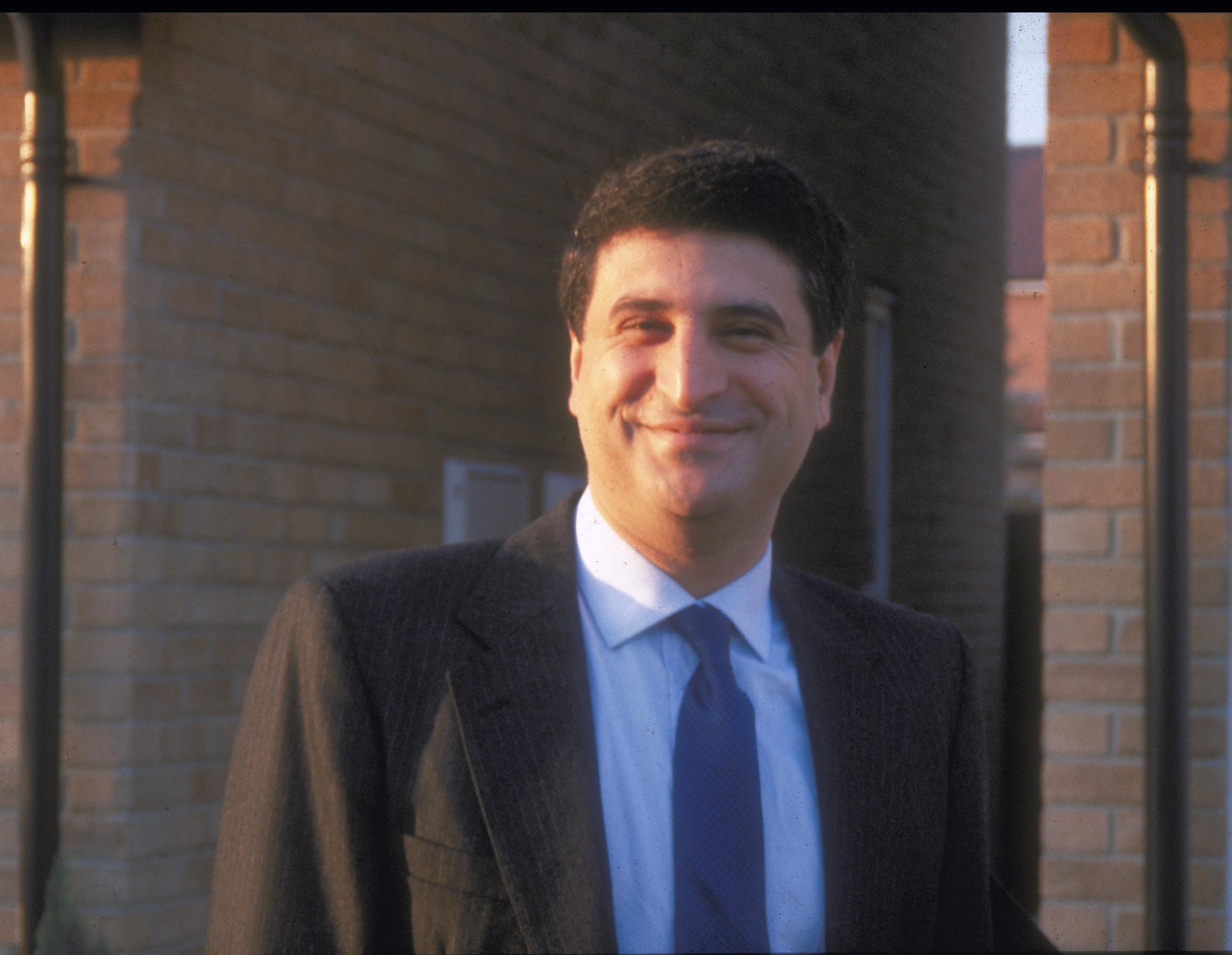 Masoud Yazdani, 1988, in England
