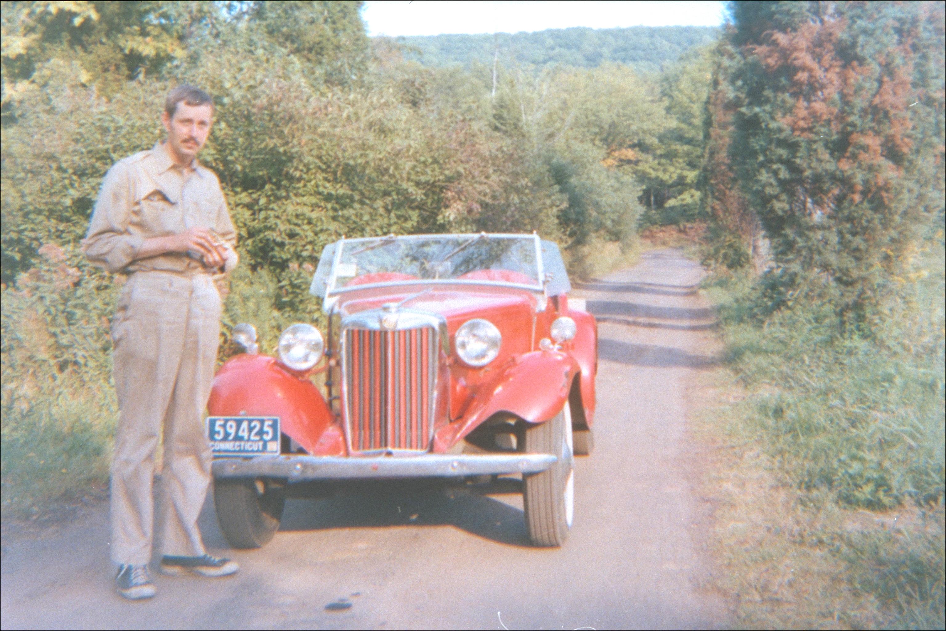 MG with Bob, 1967
