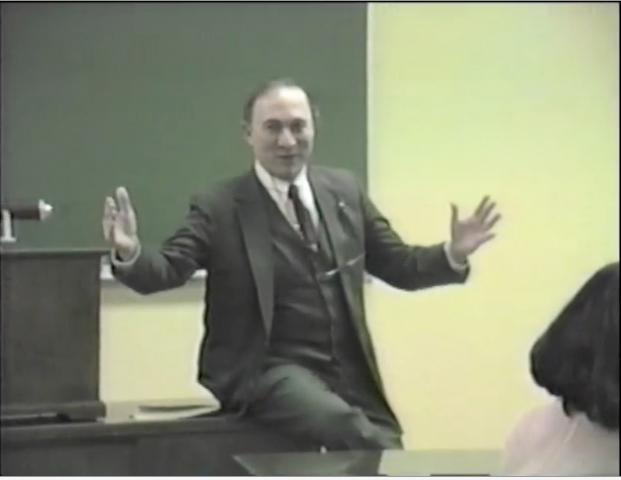 Sheldon H. White, 1988, at Purdue
