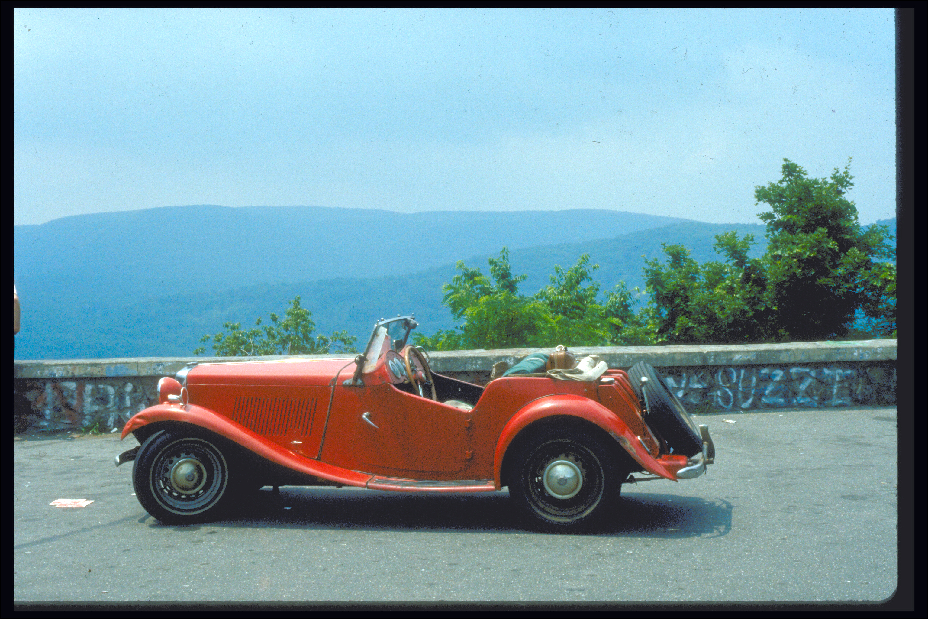 MG at Bear Mountain, NY 1984