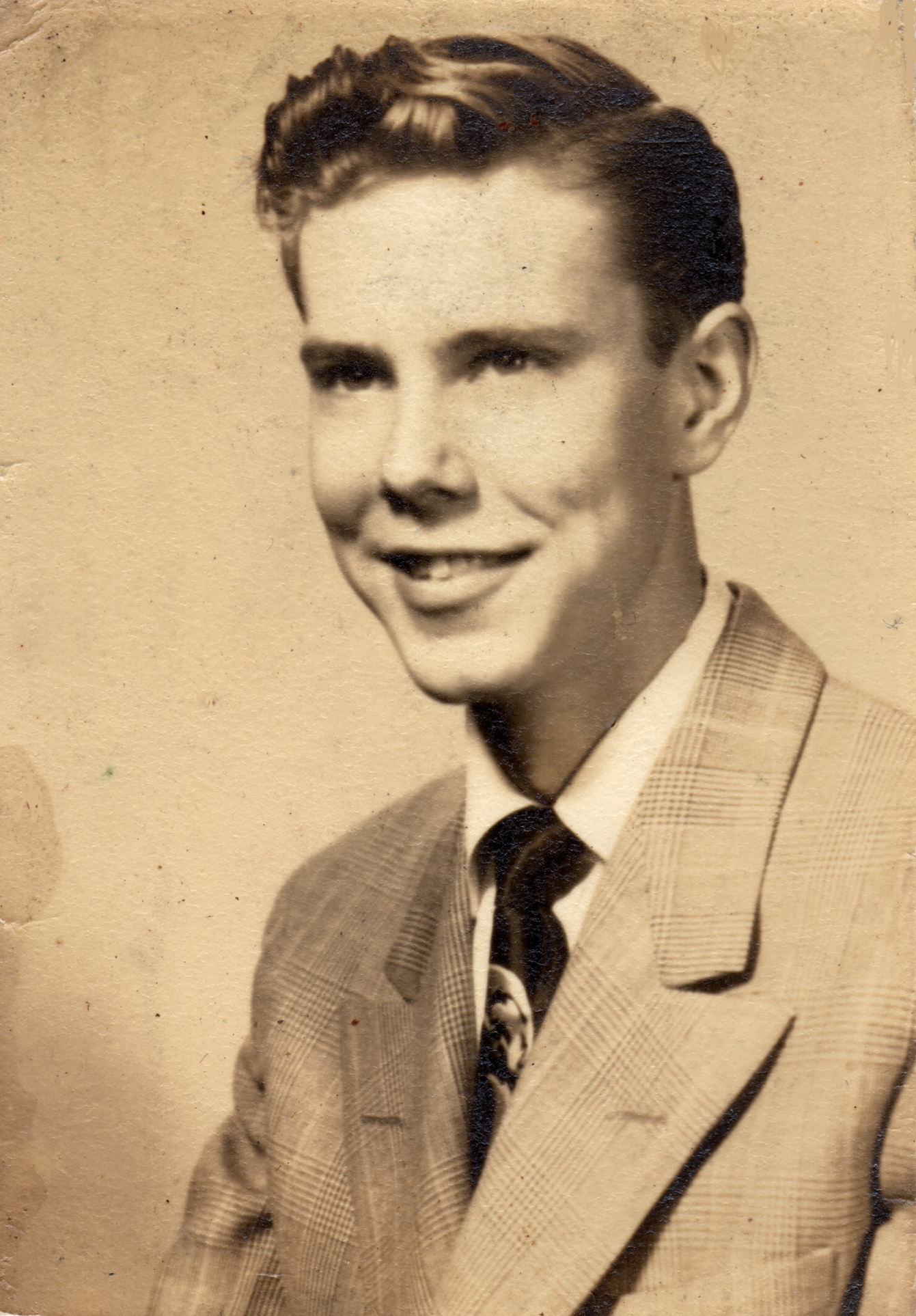 BobBro4: M. David Lawler around 17 (High School Graduation)