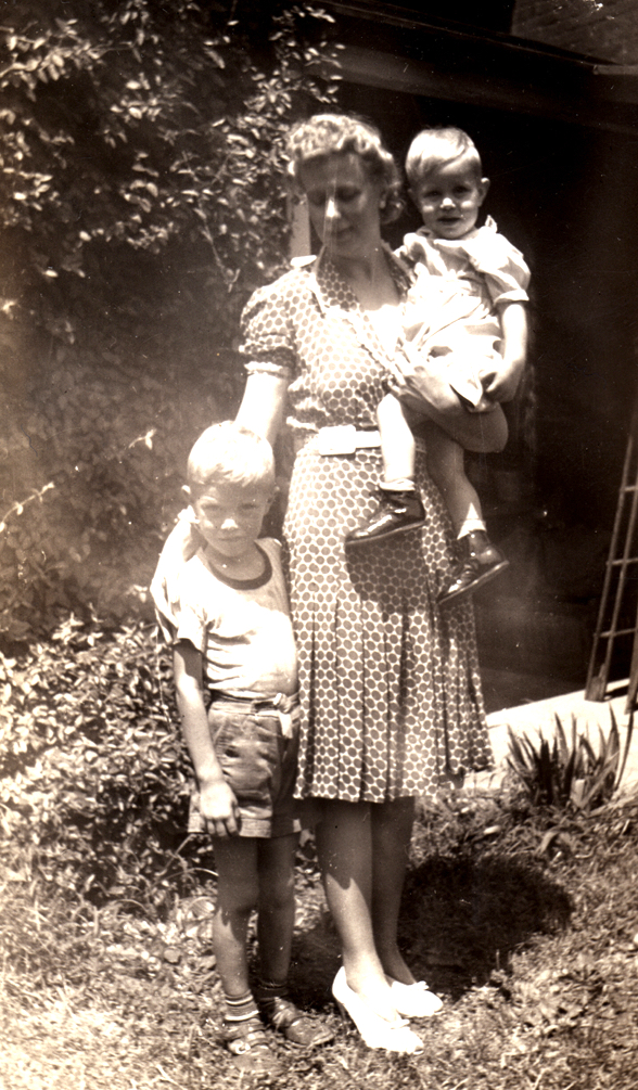BobMom8: Miriam S. K. Lawler at 26, with 2 sons