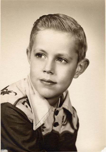 BobPics4: Bob at 8, portrait