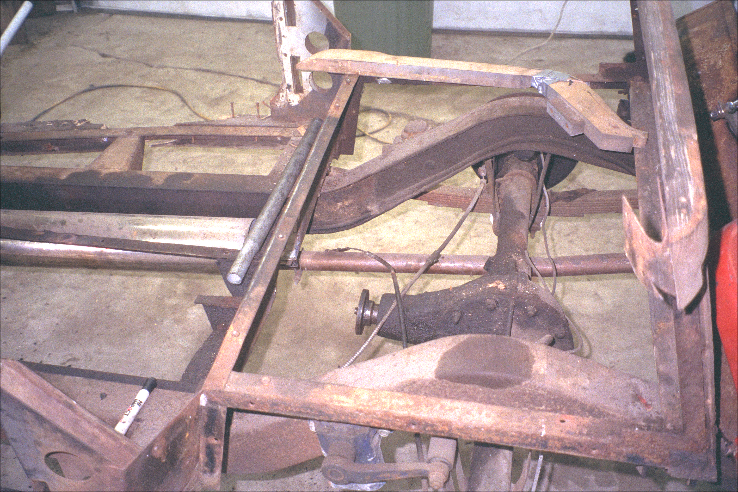 Shaft-joint of universal, with shaft removed