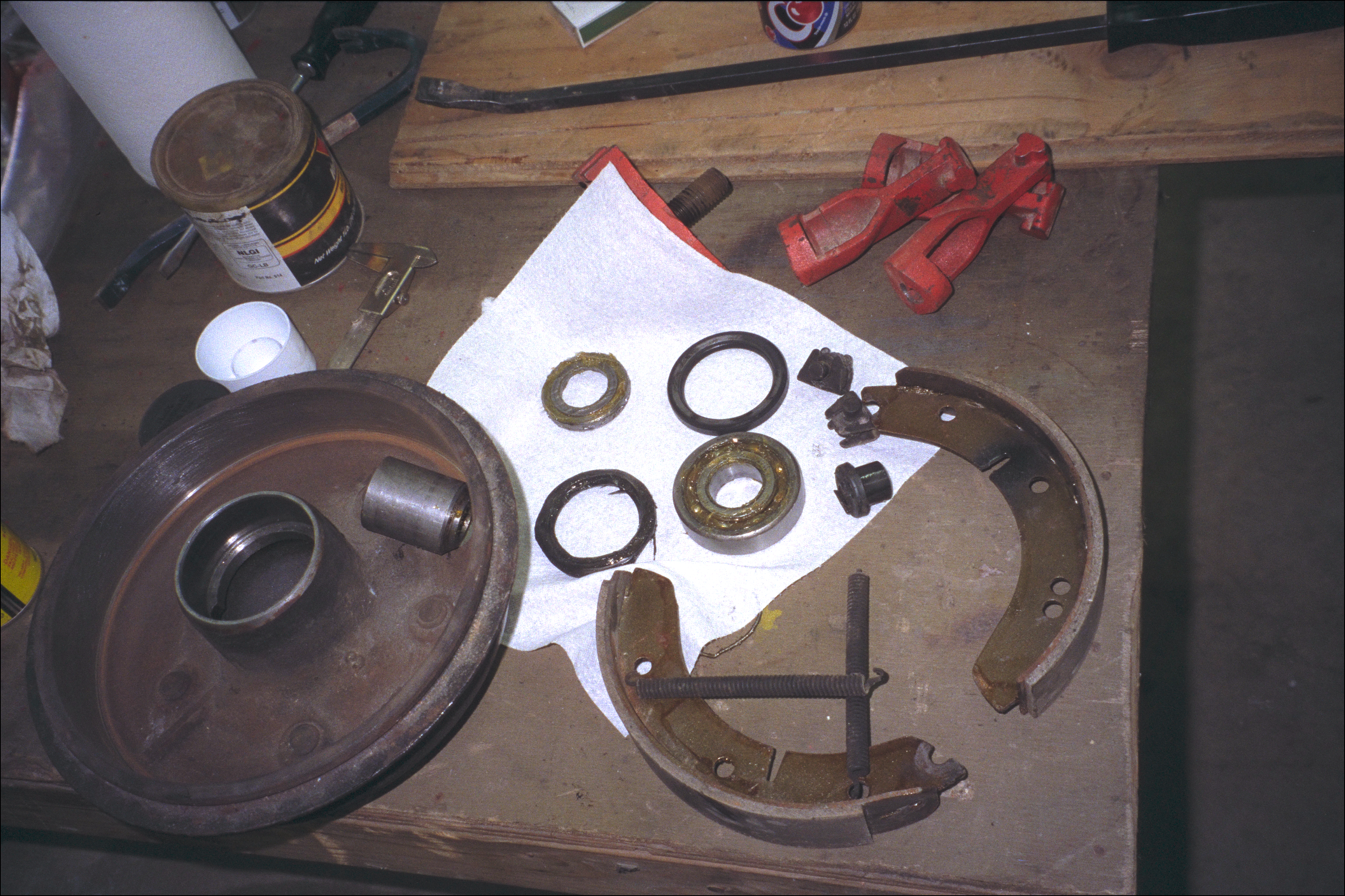 Wheels and brake parts