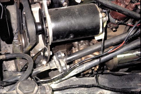 Steering column / front end joint; Generator