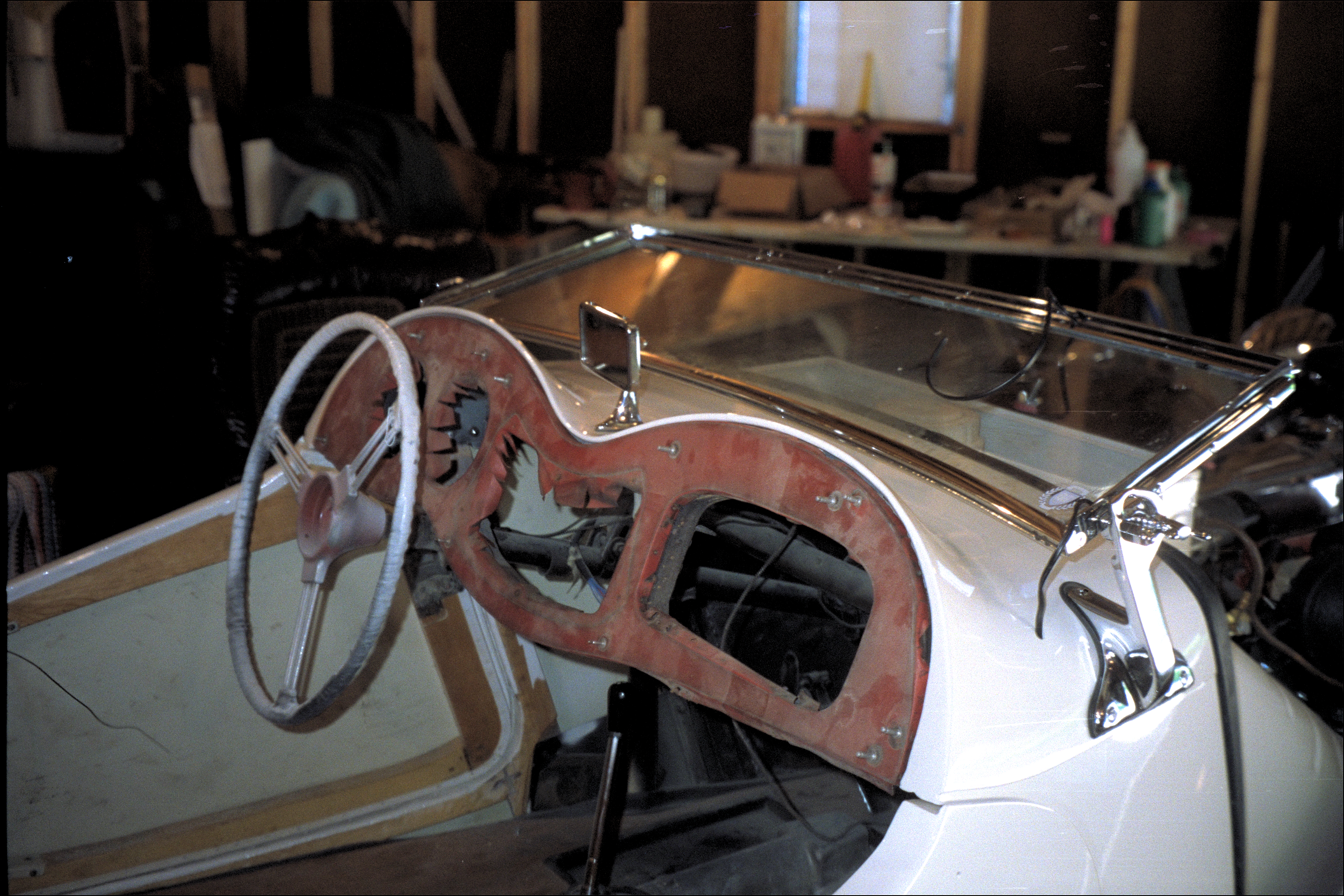 Original dashboard, stripped