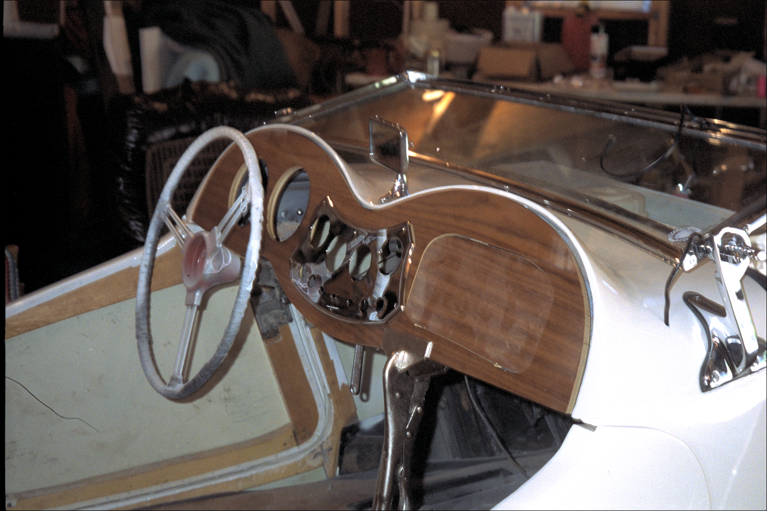 Replacement dashboard