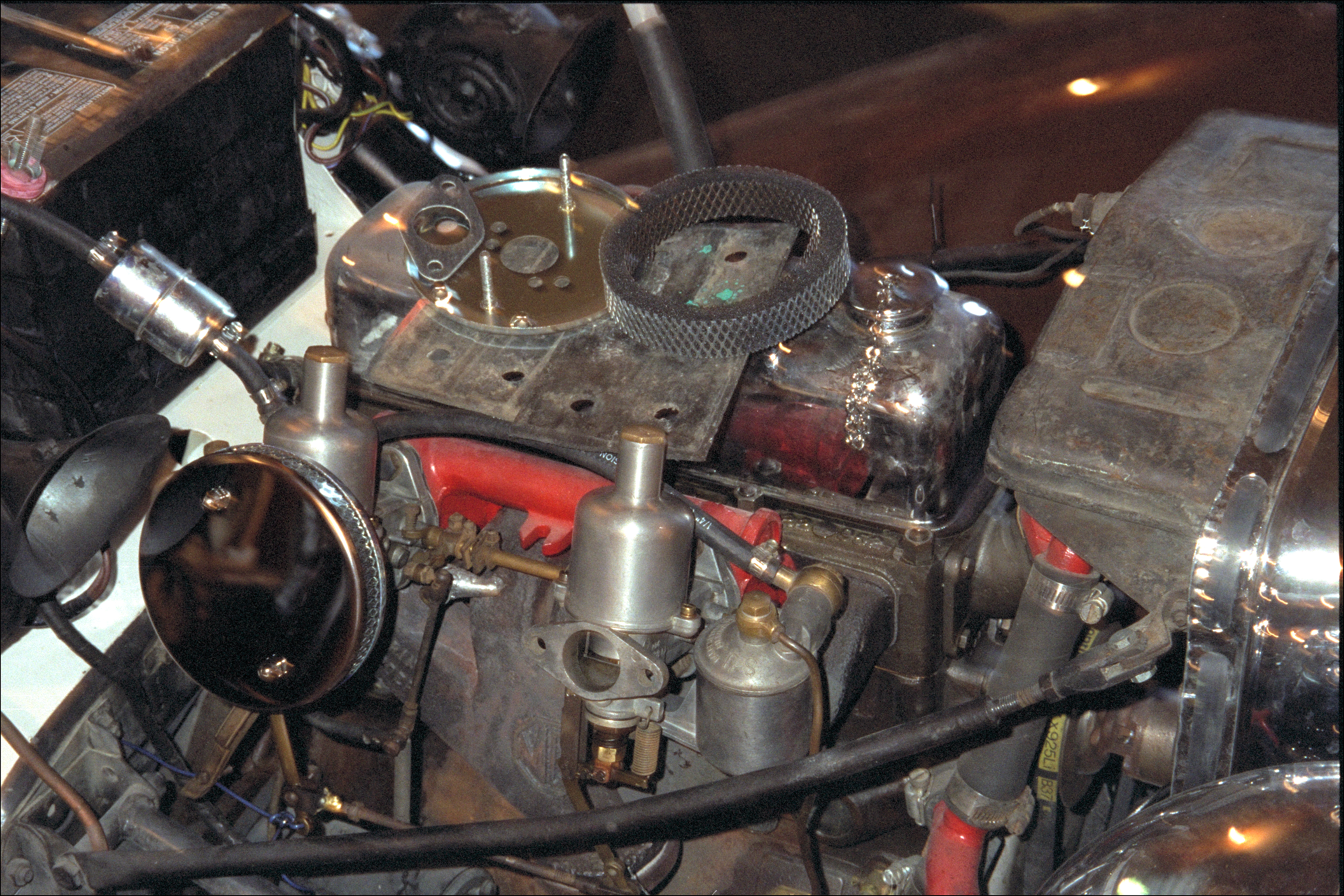 Installing carb mounted air filters