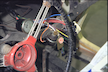Oil pressure gauge and ignition circuit for test